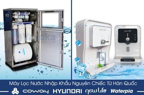 Những hãng máy lọc nước nhập khẩu nguyên chiếc từ Hàn Quốc