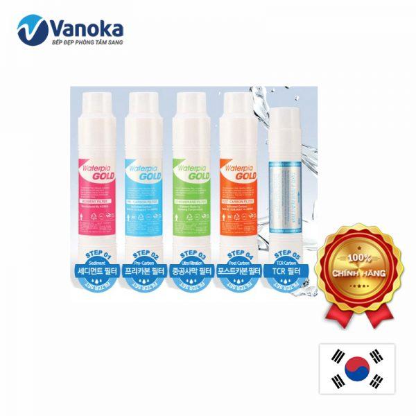 Bộ 5 lõi lọc nước RO Newlife nhập khẩu chính hãng Hàn Quốc