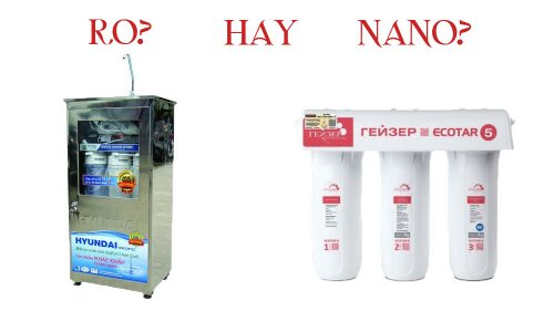 Máy lọc nước tinh khiết RO hay công nghệ NANO tốt hơn? thumbnail