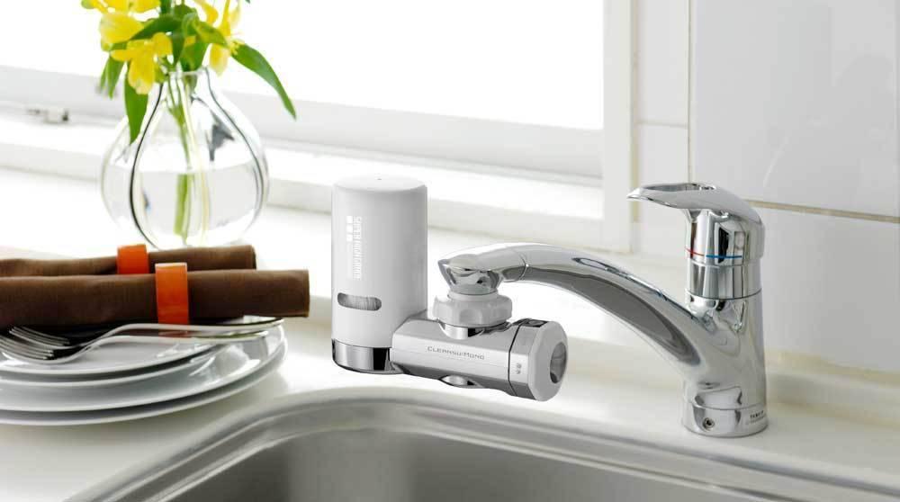 Máy lọc nước tại vòi mang lại nguồn nước sạch ngay tại vòi khi sử dụng