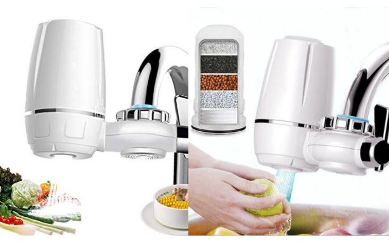 Máy lọc nước tại vòi không có khả năng lọc nước uống tại vòi