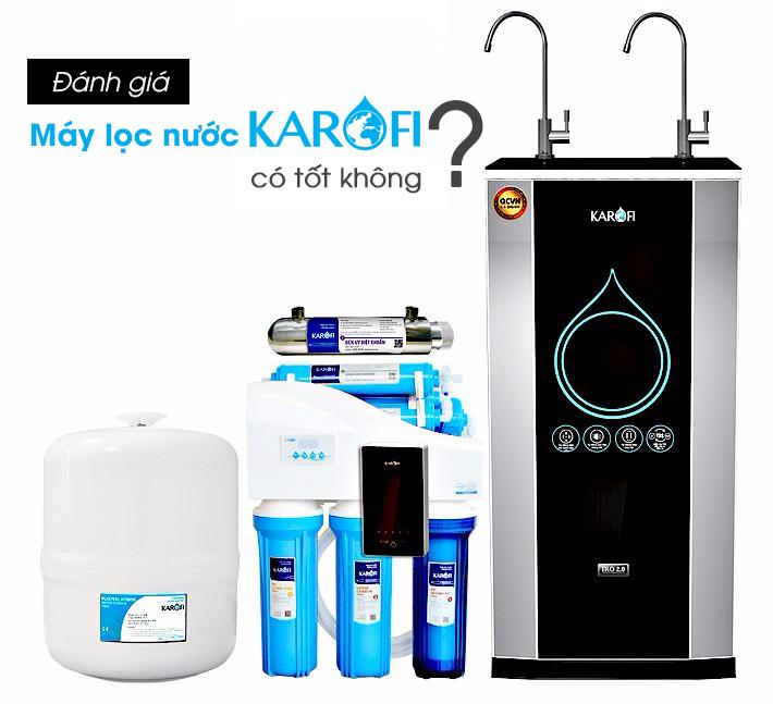 Đánh giá máy lọc nước Karofi có tốt không hiện nay thumbnail