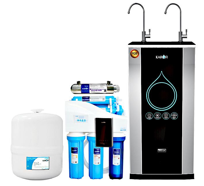 máy lọc nước Karofi thông minh
